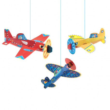 Airy objects to hang Planes