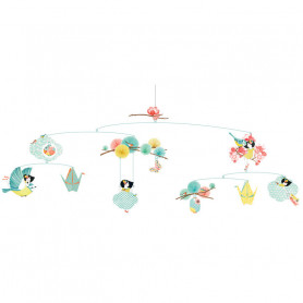 Mobile décoratif La petite rêveuse