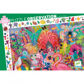 Observation Puzzle Rio Carnaval 200 pieces