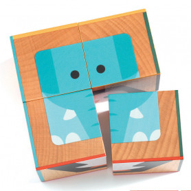 Wooden blocs Cuba Basic 4 pieces