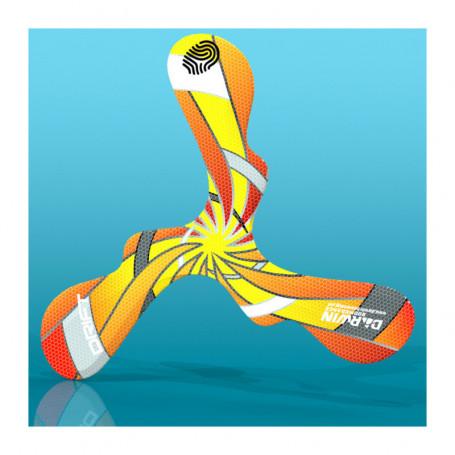 Drift Orange Foam Boomerang for left-handed