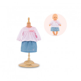 Top and skirt set - Mon Premier poupon Corolle 30 cm