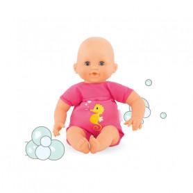 Bébé bain Plouf Fuchsia - Mon premier poupon Corolle 30 cm