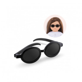 Black sunglasses for Ma Corolle Doll