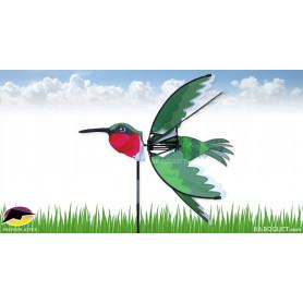 Eolienne de balcon Oiseau Colibri 61x61cm