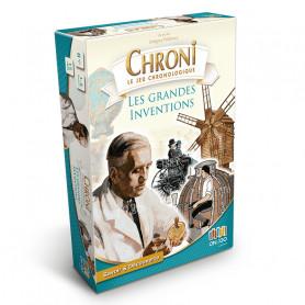 Les grandes inventions - Chroni le jeu chronologique