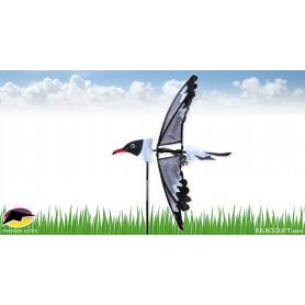 Eolienne décorative Oiseau Mouette Rieuse