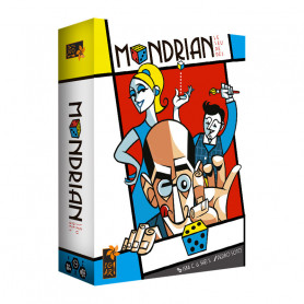 Mondrian - An avant-garde dice game