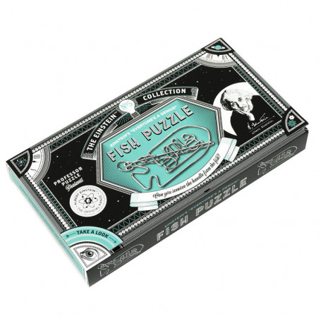 Casse-tête en métal - Fish puzzle - Collection Einstein n°5
