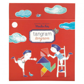 Magnetic Tangram - travel game