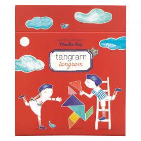 Tangram magnétique - Jeu de voyage