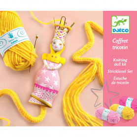 Knitting doll kit - Princess