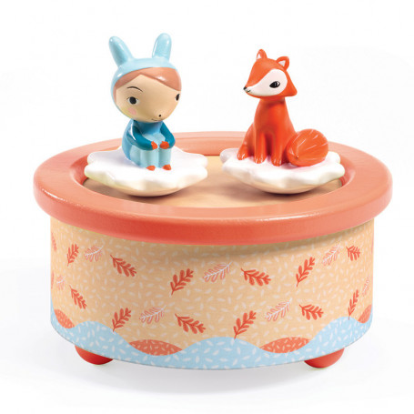 Magnetic music box Fox Melody