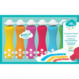 6 foam markers