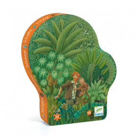 In the jungle - 54 pieces Puzzle