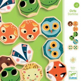 Octo Domino - animaux de la forêt