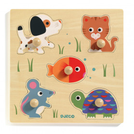 Bulle & Co Wooden Puzzle