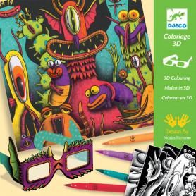 3D Colouring - Funny Freaks