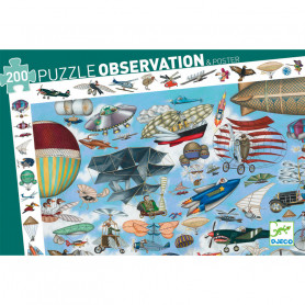 Observation Puzzle Aéro Club 200 pieces