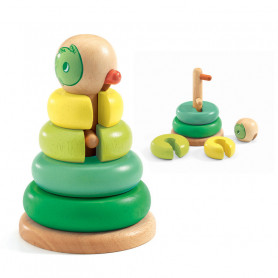 Duck Stacking Wooden Toy Tournitwist