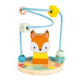 Looping Renard Pure - jouet d'éveil en bois