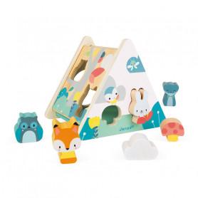 Boîte à Formes Pure - jouet d'éveil en bois