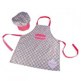 Macaron Apron + Chef Hat