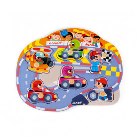 Happy Racing Puzzle 6 pieces