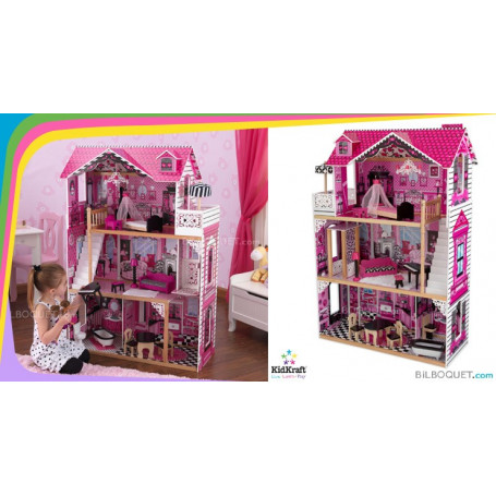 Amelia Doll House With Furniture