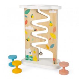 Descendeur - jouet d'éveil en bois