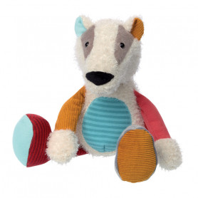 Mini Badger pluch - Patchwork Sweety