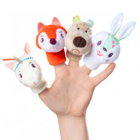 Forest Finger puppets