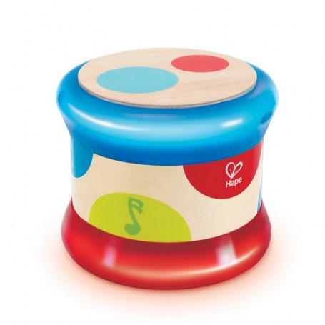Petit tambour de bébé avec sons et lumière