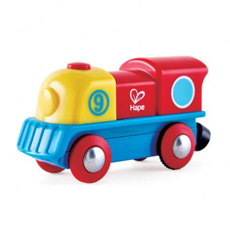 Petite locomotive aimanté à moteur
