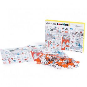 Puzzle Dans la ville - 208 pièces