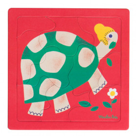 Turtle puzzle - 10 pieces