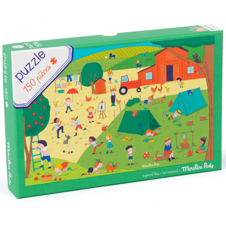 Puzzle in the countryside - 150 pieces