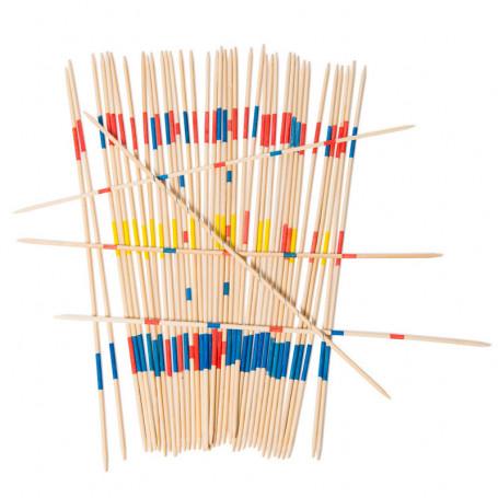 Giant pick up sticks - aujourd'hui c'est mercredi