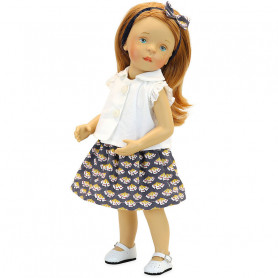 Minouche 34cm Doll - Suzanne - Sylvia Natterer