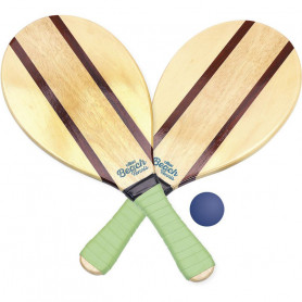 Vintage beach rackets set