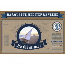 """Kit de construction Barquette Méditerranéenne """"Le Toi et Moi"""""""
