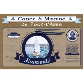 """Kit de construction Canot à Misaine de Pont l'abbé """"Humanité"""""""