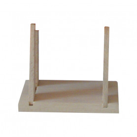 Sailboat wooden support Tirot