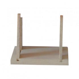 Support de voilier en bois Tirot