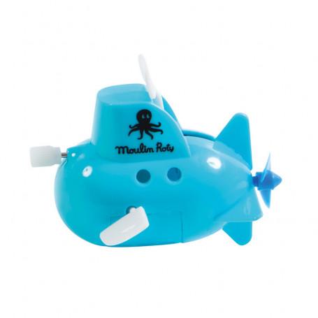 Blue submarine to go up - bath game