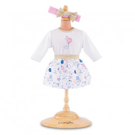 Outfits Set 40yearscorolle for 30 cm baby doll