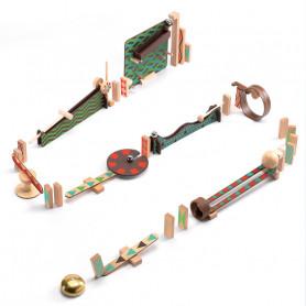 Jeu de construction Zig & Go - action-réaction - Les parcours multiples