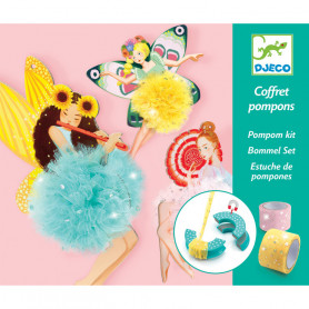Pompom kit - Fairy pompoms