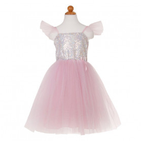 Robe de princesse sequins - déguisement fille
