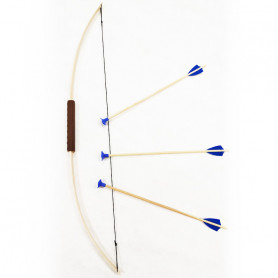 Bow Junior & 3 safety arrows Blue